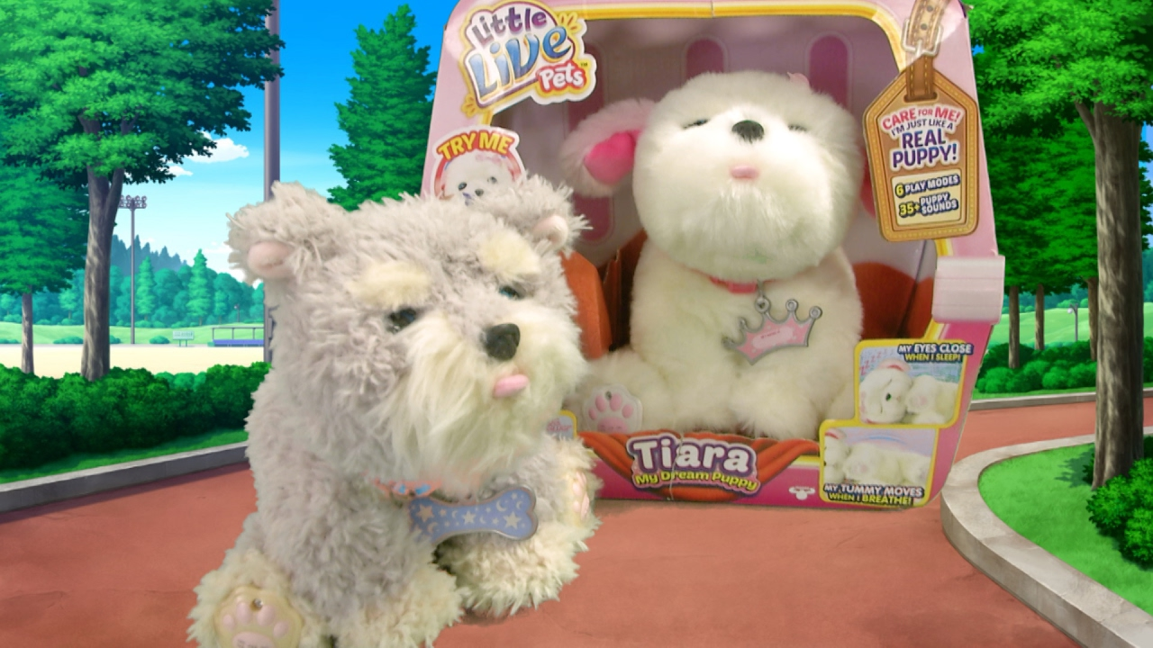 0b3cd1857086 Little Live Pets Ruffles & Tiara My Dream Puppy from Moose Toys - YouTube
