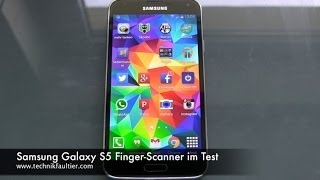 Samsung Galaxy S5 Finger-Scanner im Test