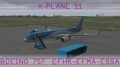 Helsinki - Maarianhamina - Tukholma · B752 · XP11