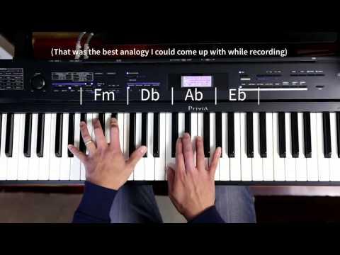 Chordies 23 - Piano Improvisation on an  A flat chord progression