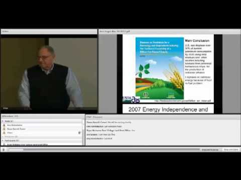 Part 1 - Switchgrass and Perennial Grasses, Biomass and Biofuels