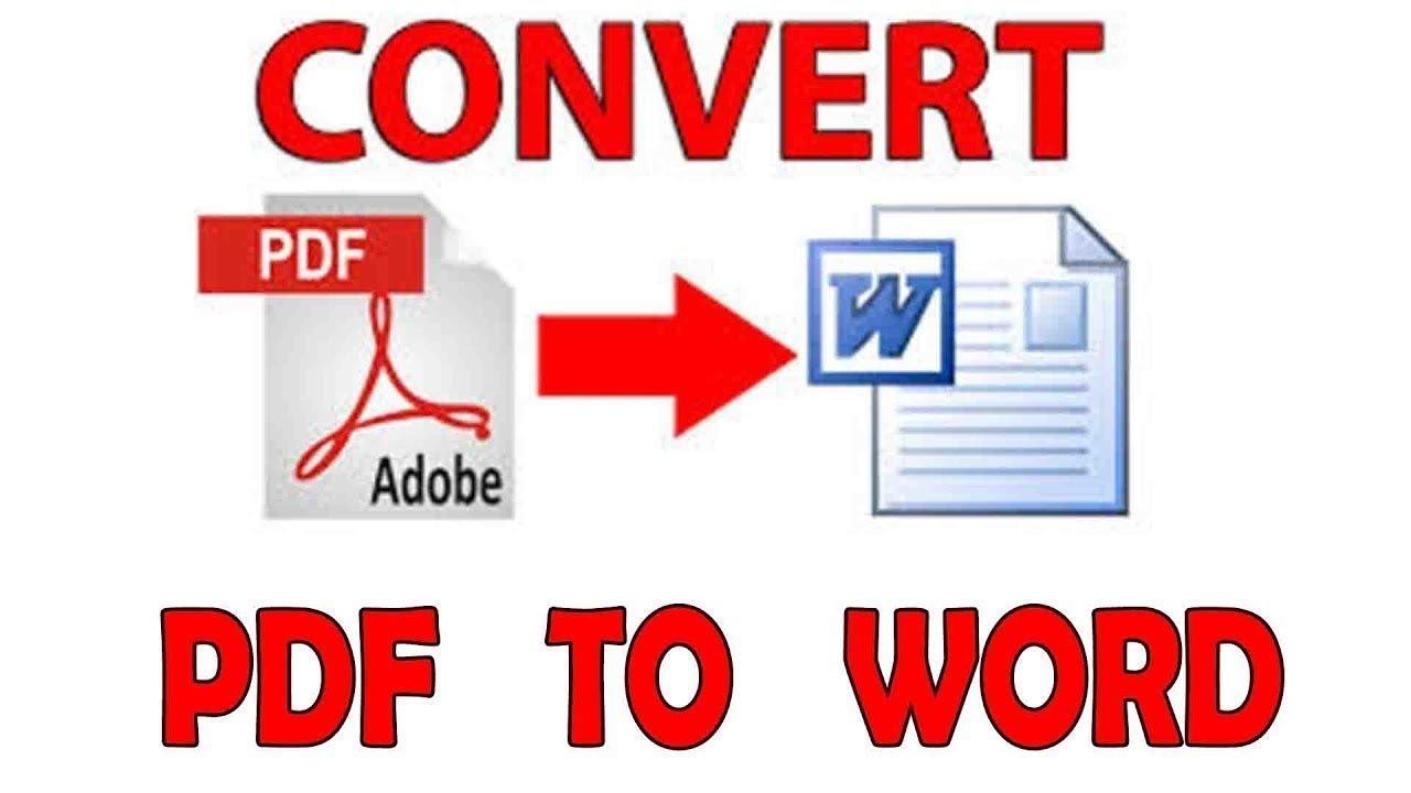 تحويل pdf الى word قابل للتعديل