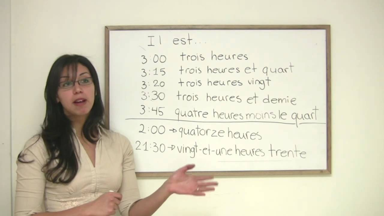 Dates in french
