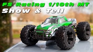 FS Racing 1/10th scale Brushless Monster Truck - Show & Tell :)