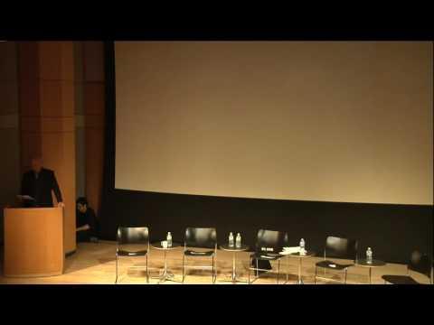 Celebrating the Life and Work of Herbert Blau: Presentation, October 16th 2013