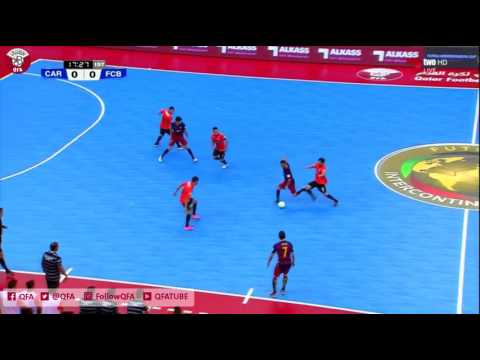 Carlos Barbosa Vs Fc Barcelona Lassa - Futsal Intercontinental Cup 2016