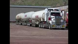 Repeat youtube video Road trains Australia