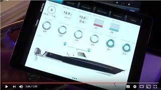 Scout 350 LXF with CZone iPad App
