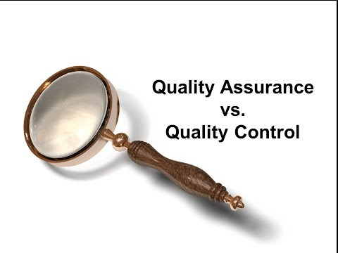 Difference between Quality Assurance and Quality Control demystified