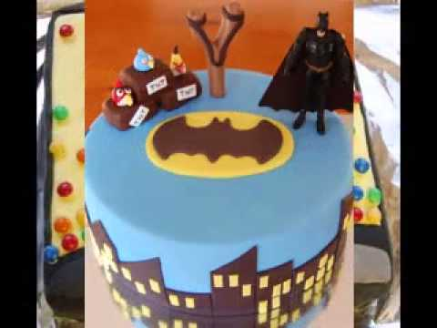 Easy Batman Birthday Cake Decorations Youtube