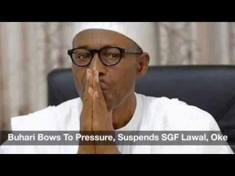 President Buhari Bows To Pressure, Suspends Babachir Lawal, NIA DG: Nigeria Daily (19/04/2017)