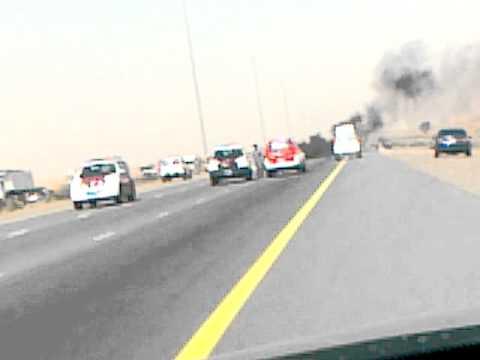 UAE ACCIDENT DUBAI TO RAS AL KHAIMAH(EMIRATES ROAD)