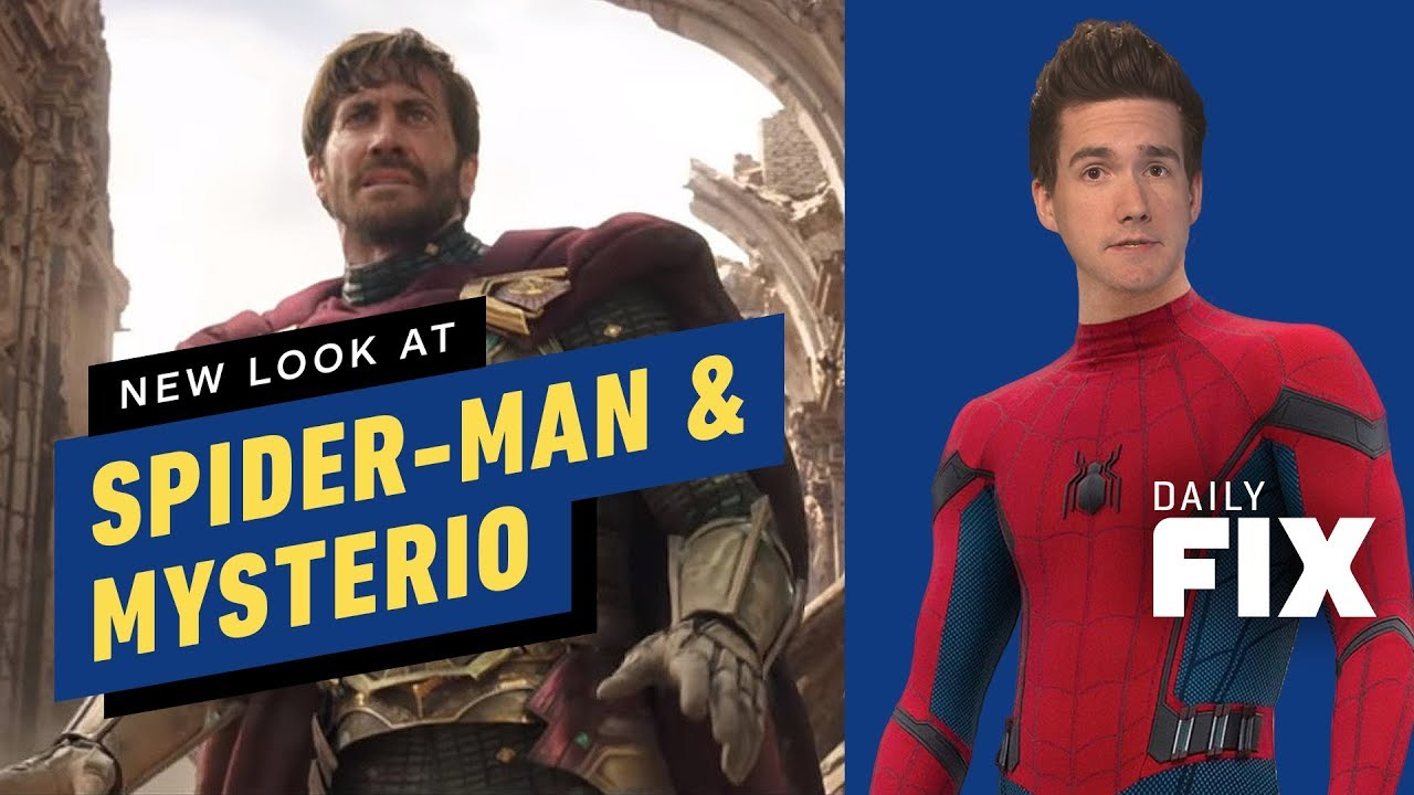 fae470369 New Look at Spider-Man & Mysterio in Far From Home - IGN Daily Fix ...