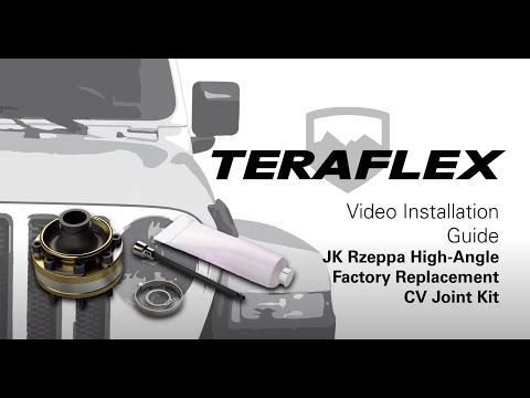 TeraFlex Install: JK Rzeppa High-Angle Factory Replacement CV Joint