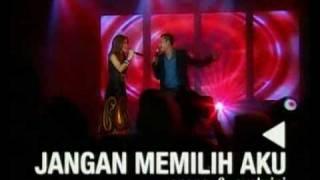 Anang & Syahrini - Jangan Memilih Aku (MTV @ Muzik25)