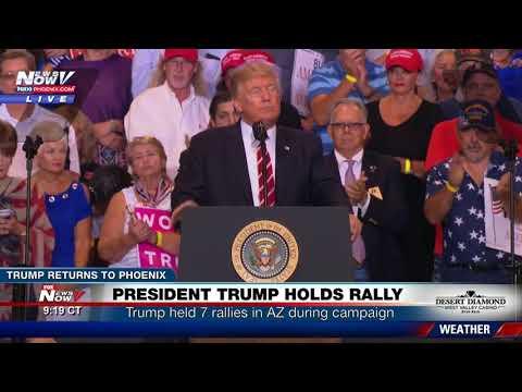 FULL SPEECH: Trump Defends Charlottesville Remarks, Bashes Media, Talks Arpaio at Phoenix Rally
