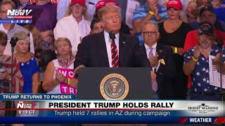 FULL SPEECH - PHOENIX RALLY: Trump Defends Charlottesville Remarks, Bashes Media, Talks Arpaio (FNN) thumbnail