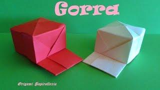 Origami - Papiroflexia. Gorra Muy Fácil.