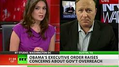 Alex Jones: Obama's Executive Order facilitates martial-law