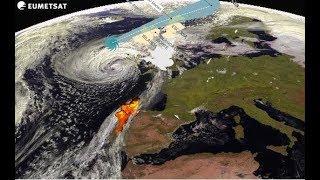 Última hora El huracan Ofelia incendios España, Portugal amenaza a Reino Unido.