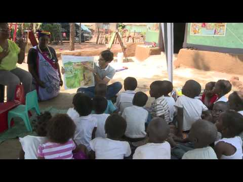 Roger visits Foundation project in South Africa
