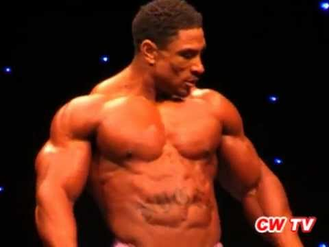 British Grand Prix IFBB Pro 2011. Roelly Winklaar