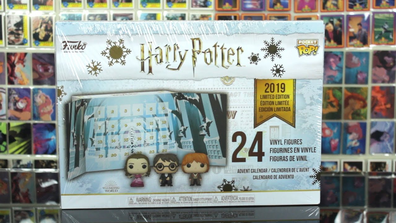 Calendrier De Lavent Harry Potter Funko Pop.Harry Potter 2019 Yule Ball Funko Advent Calendar Unboxing