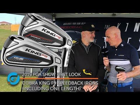 COBRA KING F9 SPEEDBACK IRONS (INCLUDING ONE LENGTH)