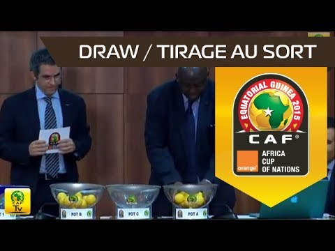DRAW Ceremony : Qualifiers Orange Africa Cup of Nations 2015