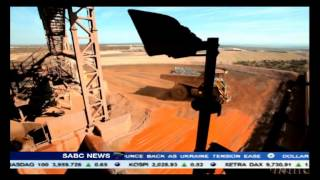 Kumba Iron Ore reported its first half earnings slipping to 6.5 billion rand
