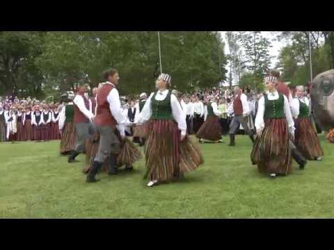 """Visam Cauri Iet /tautas Mūzika """"Baļķi"""" Apdarē, Horeogrāfija – Jānis Purviņš/"""