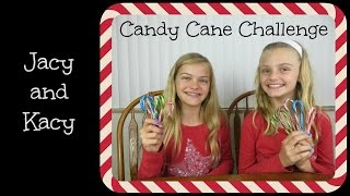 Candy Cane Challenge ~ Jacy and Kacy