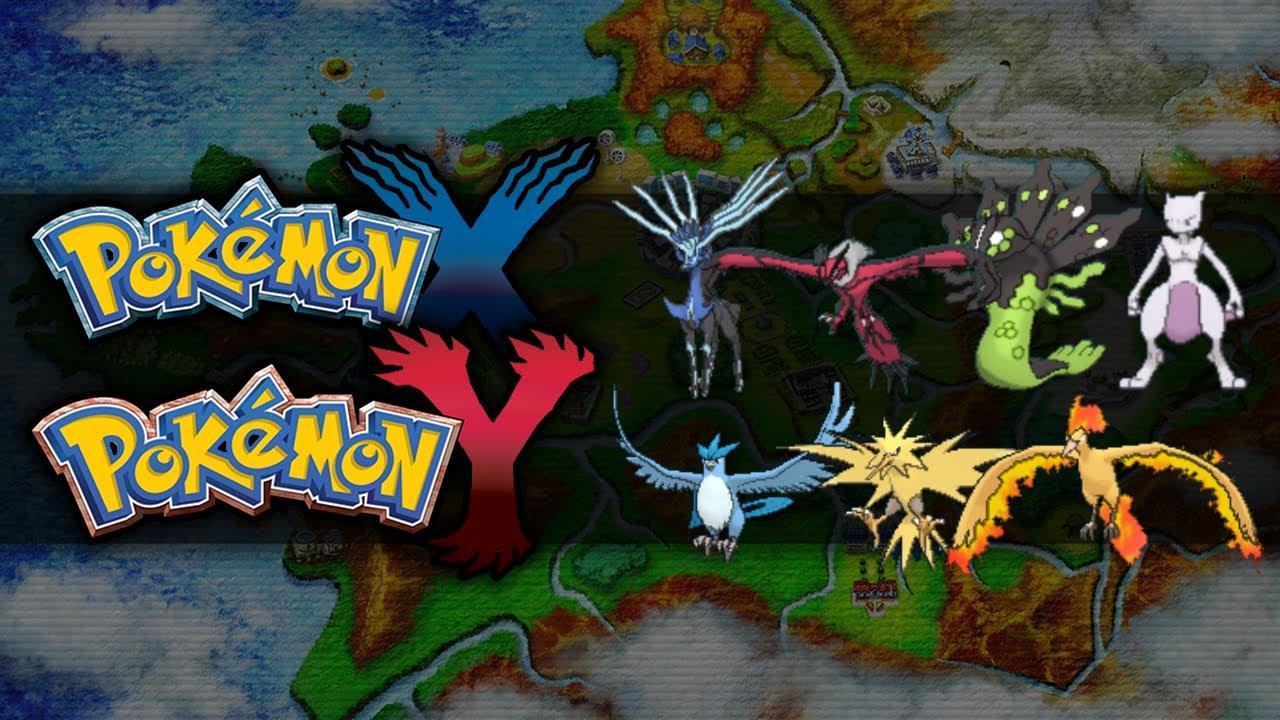Pokemon x and y legendary pokemon youtube - Pokemon x pokemon rare ...