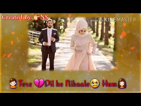 Mohabbat Bhi Zaroori Thi Female Version Very Sad Whatsapp Status Video 30 Second