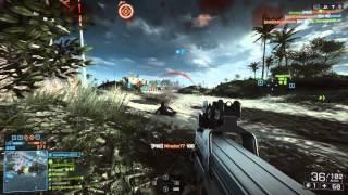 Battlefield 4 multiplayer gameplay na SAPPHIRE Radeon R9 280X Toxic