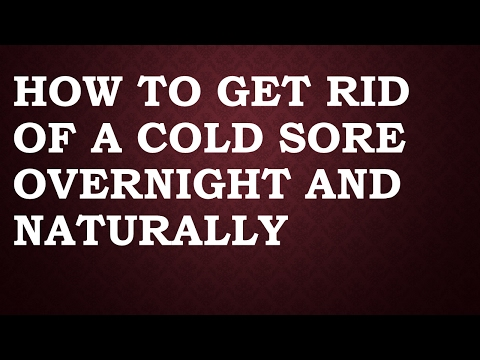 How To Get Rid Of A Cold Naturally Overnight