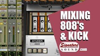 Mixing Hip Hop: 808 and Kick