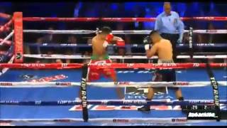 Mikey Garcia vs Juan Carlos Burgos  (highlights)