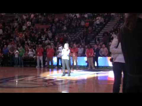 ERIN HOPE - NATIONAL ANTHEM -MEADOWLANDS ARENA