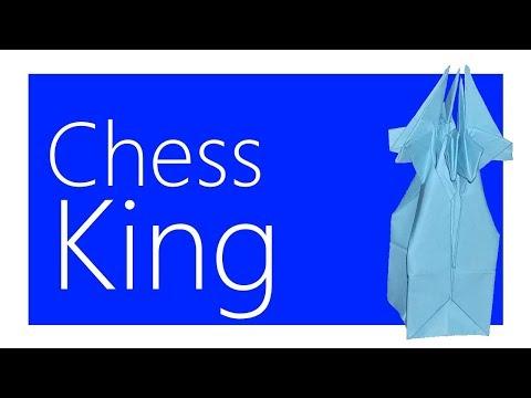 Chess King Origami Tutorial (Joseph Wu)