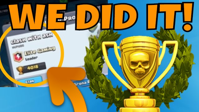 4000 TROPHIES in Clash Royale!!! The DECK That Got Me There! [ARENA 7 ...