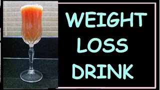 Fat Cutter Juice Recipe / Fat Burner Drink / Lose Weight Fast No Diet - No Exercise