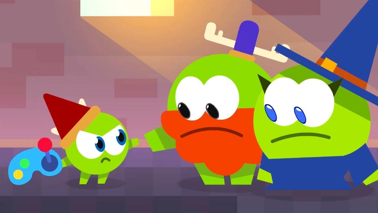 Historias de Om Nom | Nibble Nom: Videojuego de Plataformas | Dibujos Animados Para Niños