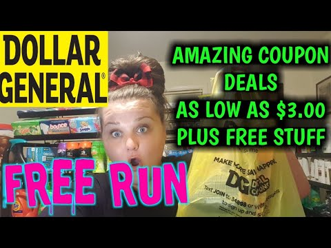 FREE FREE FREE At DOLLAR GENERAL Plus Low Oop Coupon Deals