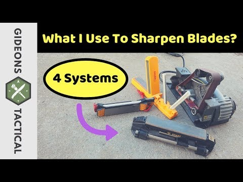 What I Use To Sharpen Blades? 4 Systems For 2019
