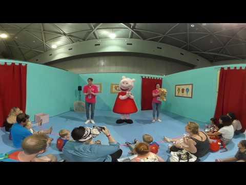 Peppa Pig Playdate 2017 in 4K 360