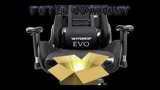 Unboxing krzeslo gamingowe GTFORCE EVO !