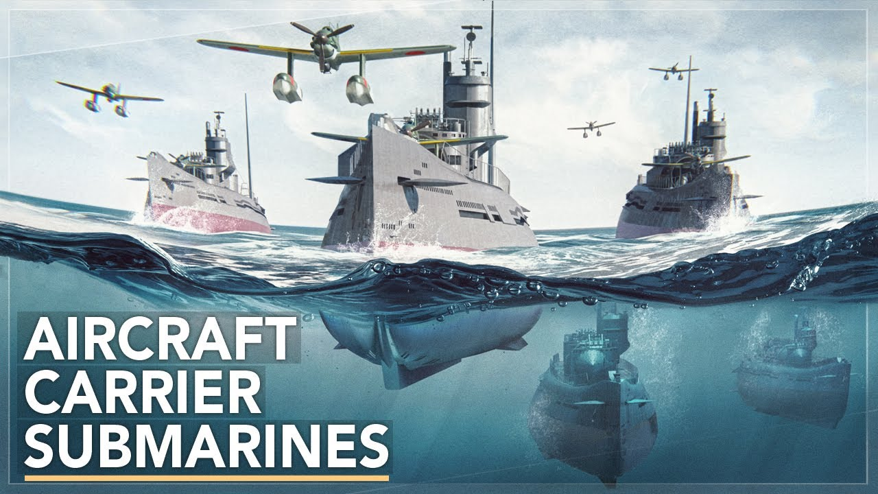 Underwater Aircraft Carriers: Imperial Japan's Secret Weapon