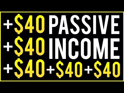 Earn $40 Over and Over - PASSIVE INCOME! (Step By Step Tutorial)