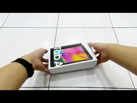 Unboxing Samsung Galaxy Tab A 8.0 (2019) SM-T295 (LTE)